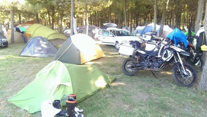 Czarnogóra camping