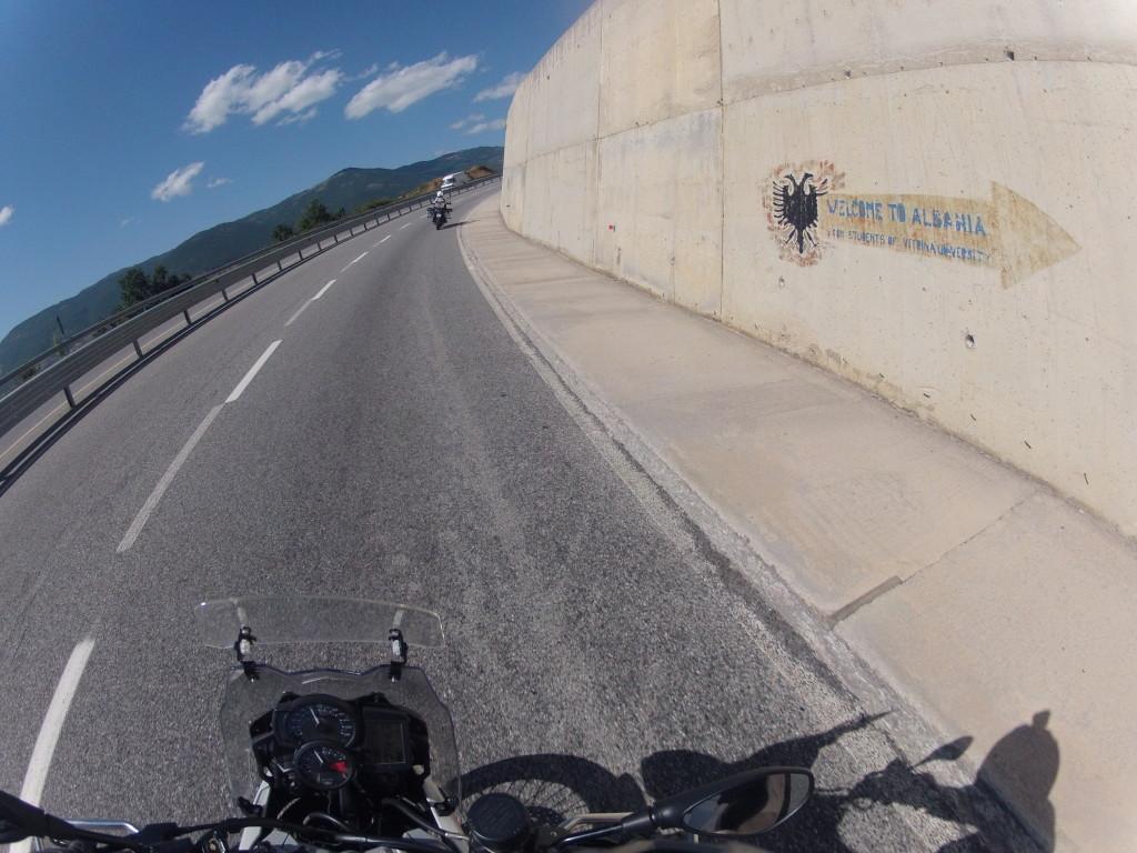 trasa w Albanii