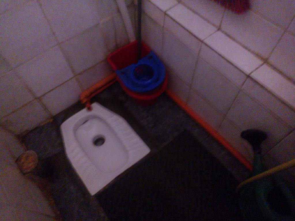 albańska toaleta