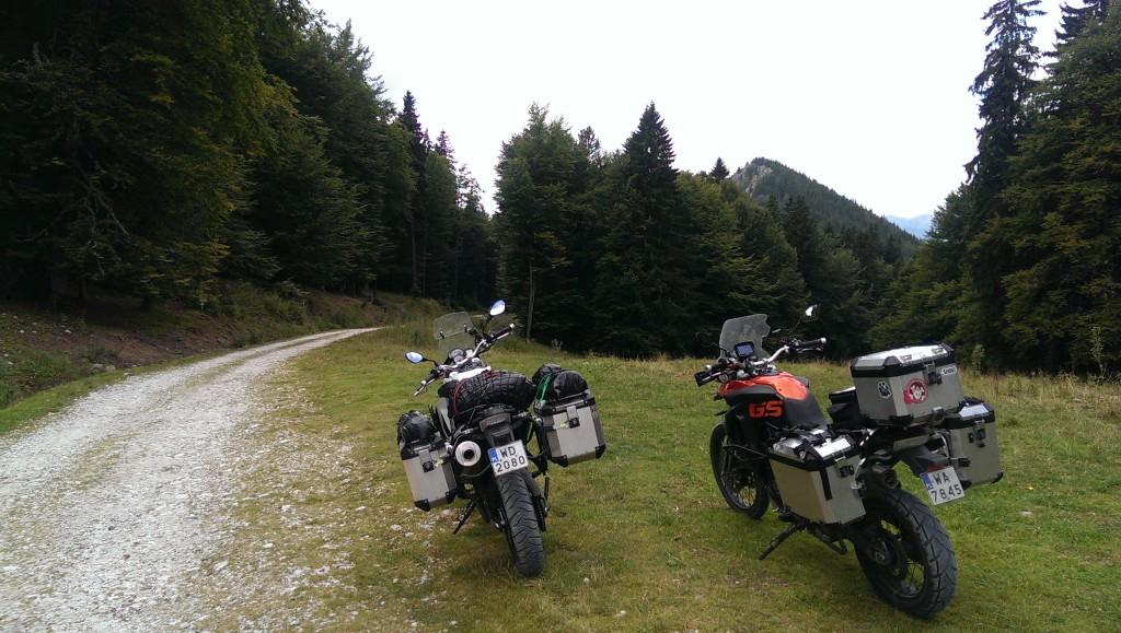 Rumunia - offroad w parku Domogled