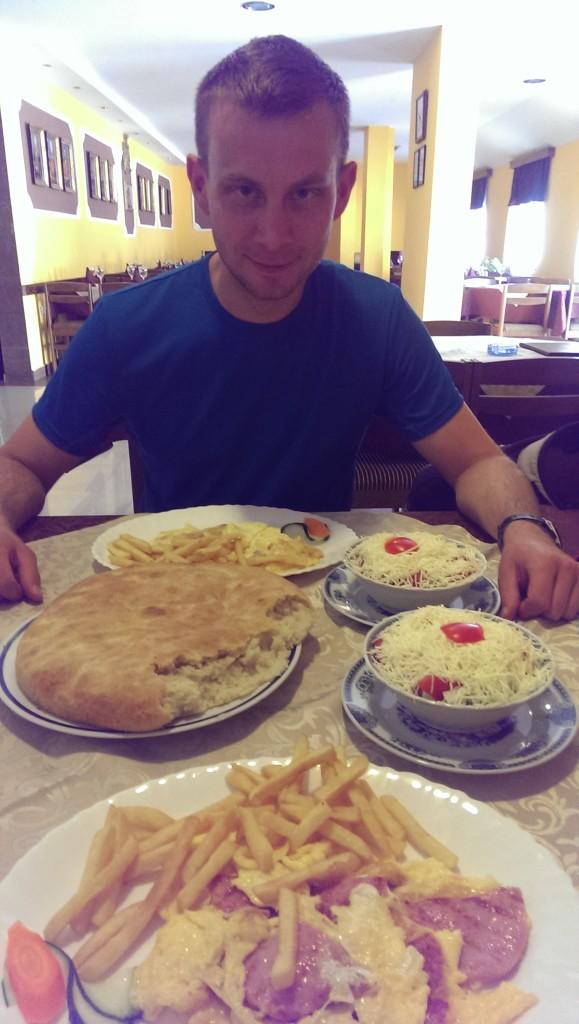 bałkańskie śniadanie